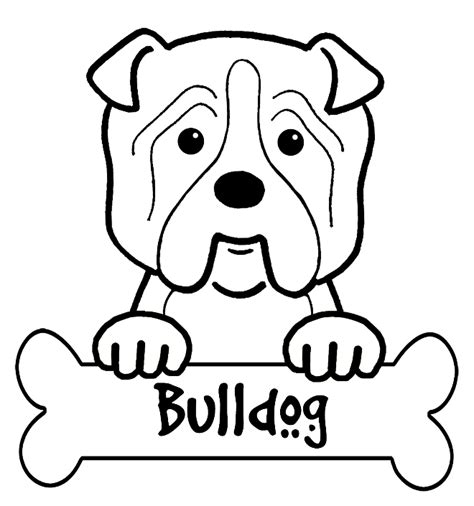 Cute French Bulldog Coloring Pages Coloring Pages Bulldog Coloring Pages