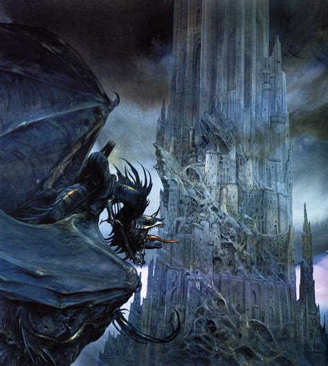 Lord Of The nazg 251 l black tower the lord of the rings howe