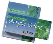 acrylic paints jacksons jackson acrylic paint sets rex supplies