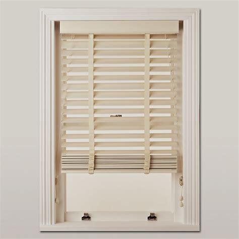 50mm Wooden Venetian Blinds With wooden venetian blind 50mm traditional venetian blinds by lewis