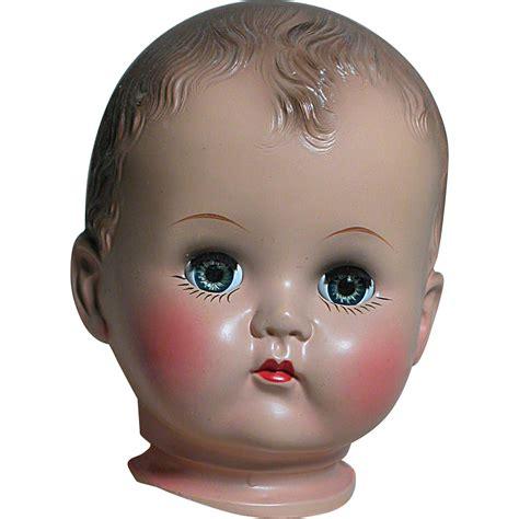 fashion doll heads ideal plastic doll pb 25 store stock like