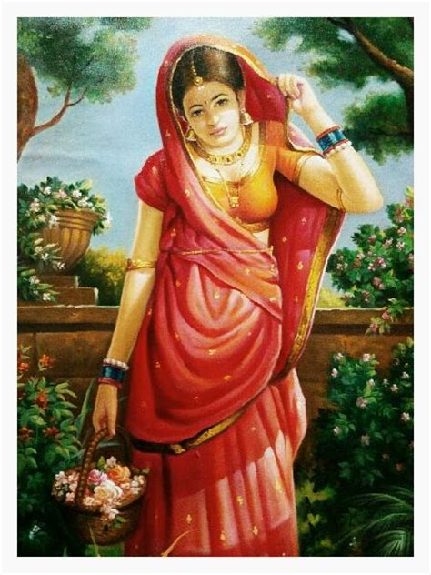 Wall Painting Colours by Beautiful Indian Lady Oil Painting Manufacturer In