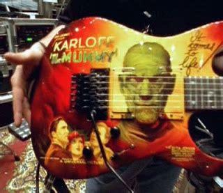 kirk hammett mummy guitar decal dazed confused kirk hammett 191 escritor