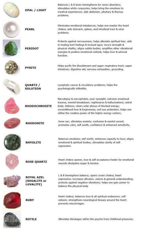 guide to crystals and gemstones for healing in5d