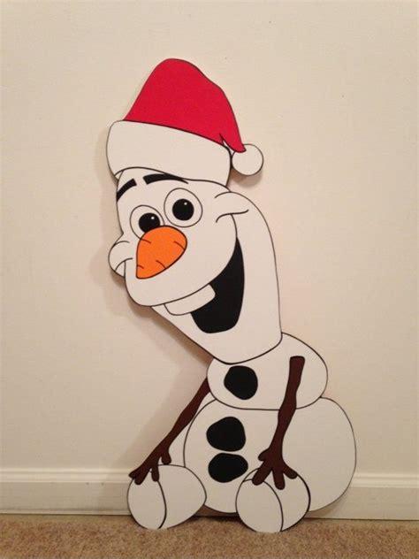 olaf from frozen yard decoration by playfulyardart 89 99