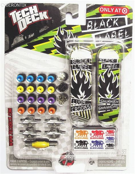tech deck trucks tech deck black label mini sk8 shop target exclusive 2011