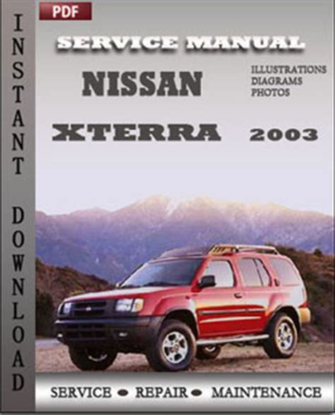 automotive service manuals 2003 nissan xterra user handbook free 2003 nissan maxima repair manual