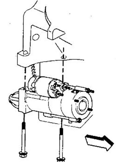 small engine maintenance and repair 2002 gmc safari transmission control repair guides starting system starter autozone com