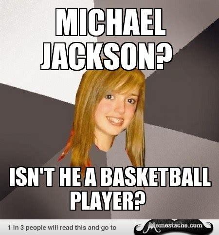 Musically Oblivious 8th Grader Meme - musically oblivious 8th grader michael jackson meme