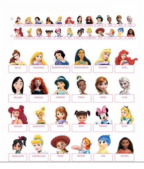 Qui Est Ce 224 Imprimer Princesses Disney Et Jeux Vid 233 Os