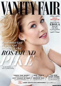 Vanity Fair Magazine Cover Rosamund Pike S Vanity Fair Cover Oozes
