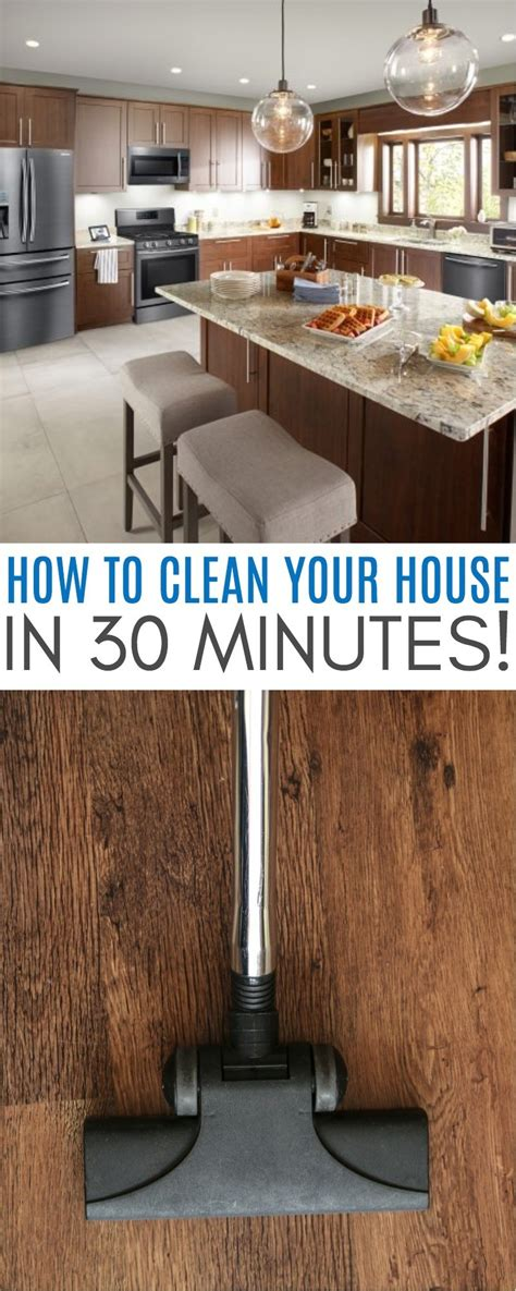 clean your house how to clean your house in 30 minutes with a free