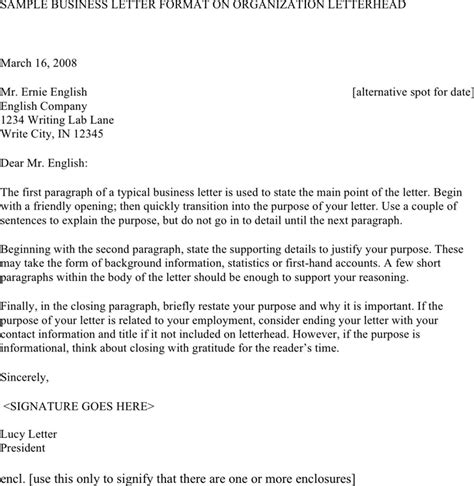 Business Letter Format Opening Friendly Opening To A Business Letter The Best Letter Sle