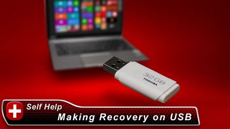 toshiba   create system recovery media   usb flash drive   windows  laptop youtube