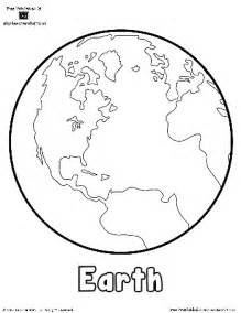 earth coloring pages earth planet coloring page