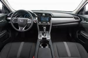 Honda Civic Ex Interior by 2016 Honda Civic Ex Sedan Test Review