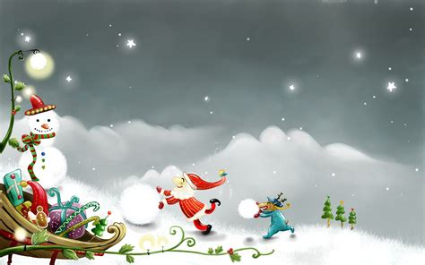 happy christmas wallpaper 320039