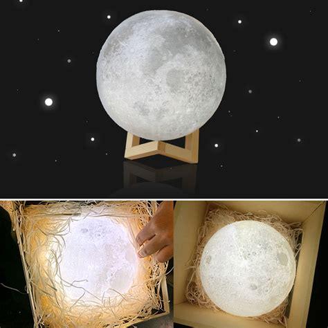 colored night light bulbs 8 20cm diameter 3d print moon l usb led night light