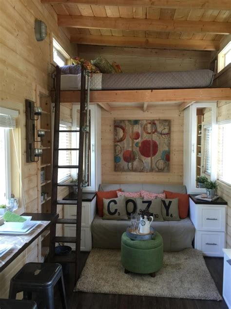 tiny house decorating 270 sq ft la mirada tiny house on wheels for sale