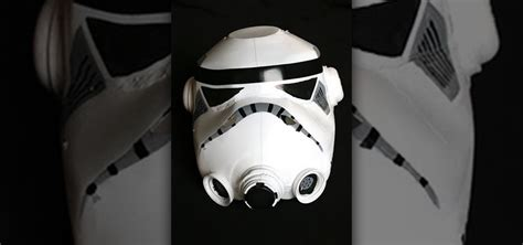 How To Make A Stormtrooper Helmet Out Of Paper - how to make a trooper helmet out of milk jugs