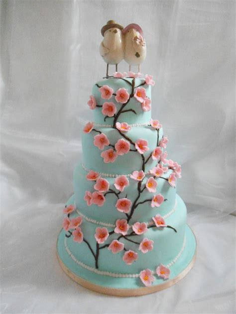 Cherry Decorations For Home cherry blossom wedding cakes wedding cake cake ideas by