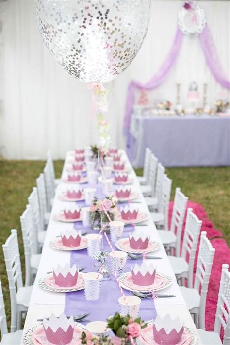 Kara's Party Ideas Elegant Purple Princess Birthday Party