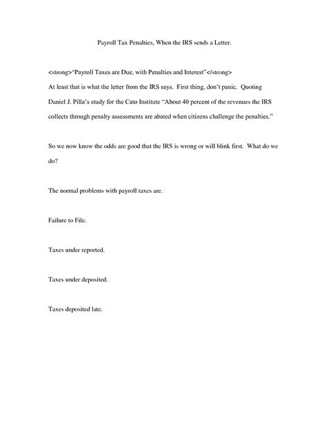 best photos of irs abatement letter letter to irs