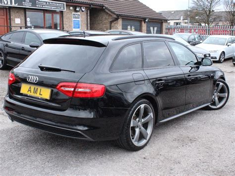 audi a4 black edition 2013 audi a4 avant 2 0 tdi 177 black edition 5dr for sale from