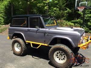 71 ford bronco custom amazing