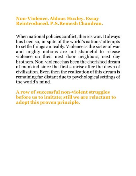 Non Violence Essay by Non Violence Essay Nonviolent Philosophy And Self Defense Civil Rights History Class Of