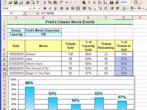 tutorial excel accounting microsoft excel tutorial for beginners 15 percentages