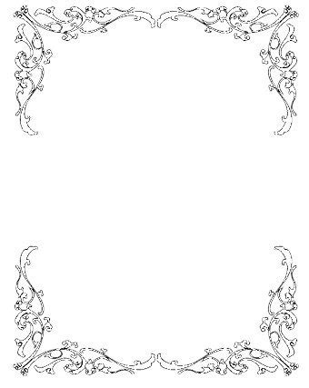 wedding invitation clip borders free zandria s wedding favors centerpieces use my white roses and put one or
