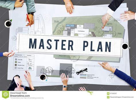 design management masters master plan management mission performance concept stock