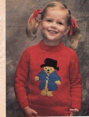 knitting pattern bear jumper pinterest