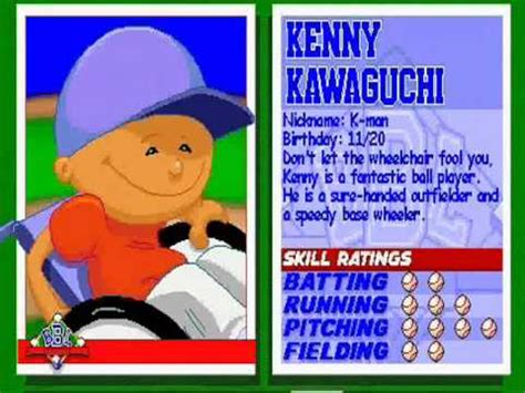 kenny backyard baseball kenny kawaguchi theme song youtube