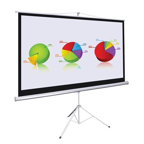 Layar Proyektor Tripod 60 Projector Tripod Screen 187 jual layar proyektor tripod d light screen 1515l harga