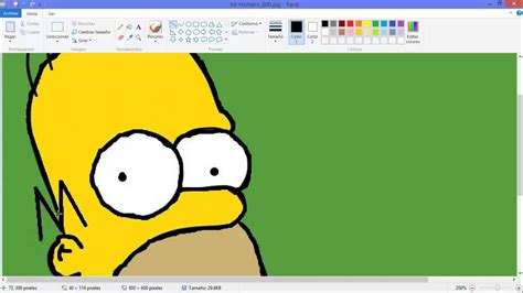 imagenes increibles hechas en paint como calcar en paint youtube