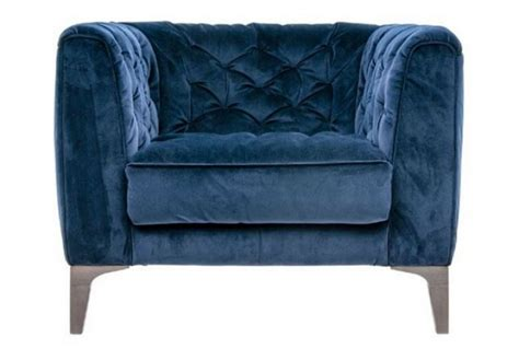 blue fabric armchair riviera blue fabric armchair absolute home
