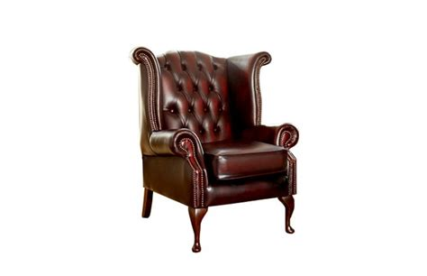 Chesterfield Wing Armchair by Scroll Wing Chair Scroll Wing Chair The Chesterfield Company