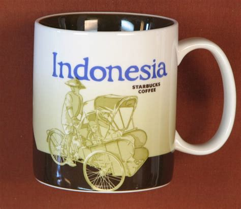 Coffee Starbucks Indonesia collecting starbucks city mugs from around the world