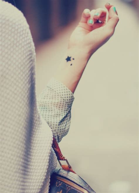single star tattoo designs ideas wrist pattern
