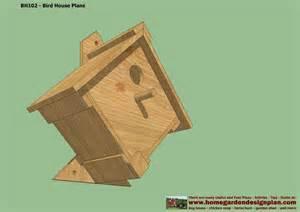 free bird house plans home garden plans bh102 bird house plans construction