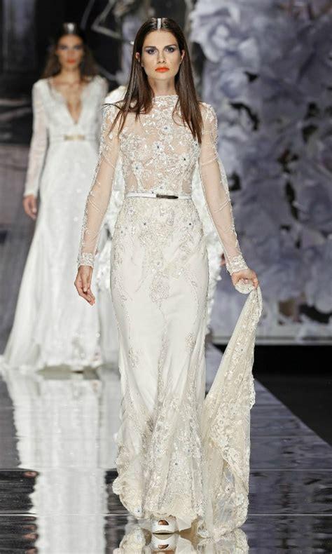 imagenes de vestidos de novia tendencia 2015 tendencias de novia 2015 vestidos con cola