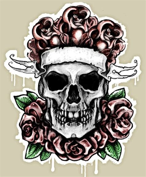 rose with ribbon tattoo designs 30 best images about skull designs on