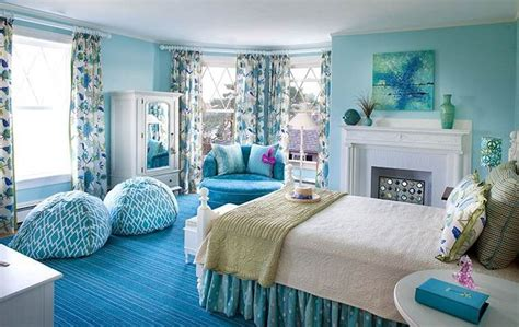 Blue Bedrooms Decorating Ideas girls blue bedroom decorating ideas
