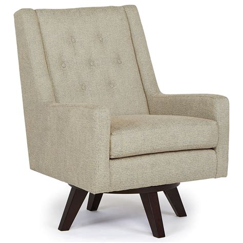 Best Home Furnishings Chairs Swivel Barrel Kale Swivel Barrel Chairs That Swivel