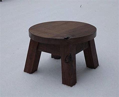 Modern Wood Step Stool by Solid Black Walnut Step Stool Farmhouse Foot
