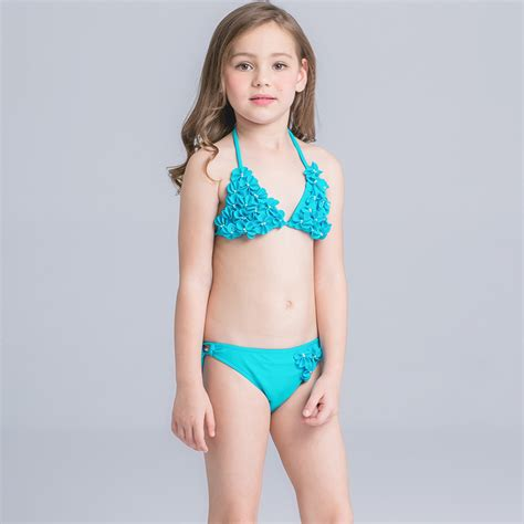 ragazza in costume da bagno bambini ragazza bambini solido per la ragazza