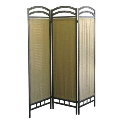 room dividers home depot home decorators collection 3 panel fiber room divider in pewter r860 the home depot