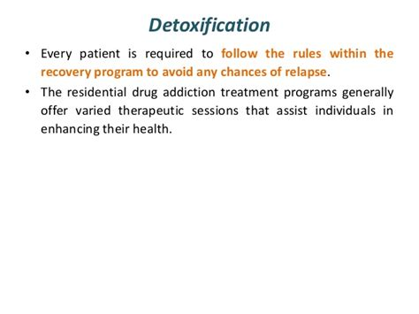 Chances Of Relapse After Detox by Treatment And Rehabilitation Of Addiction